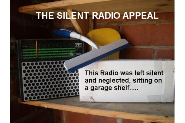 The Silent Radio Appeal