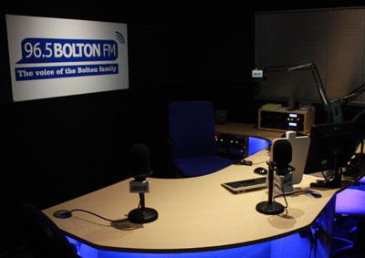 Bolton FM Studio 1